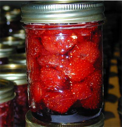 Recettes de conserves maison la confiture de fraises l - Confiture de fraise maison ...