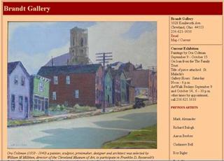 visit the new brandt gallery webpage, comments are welcomed
