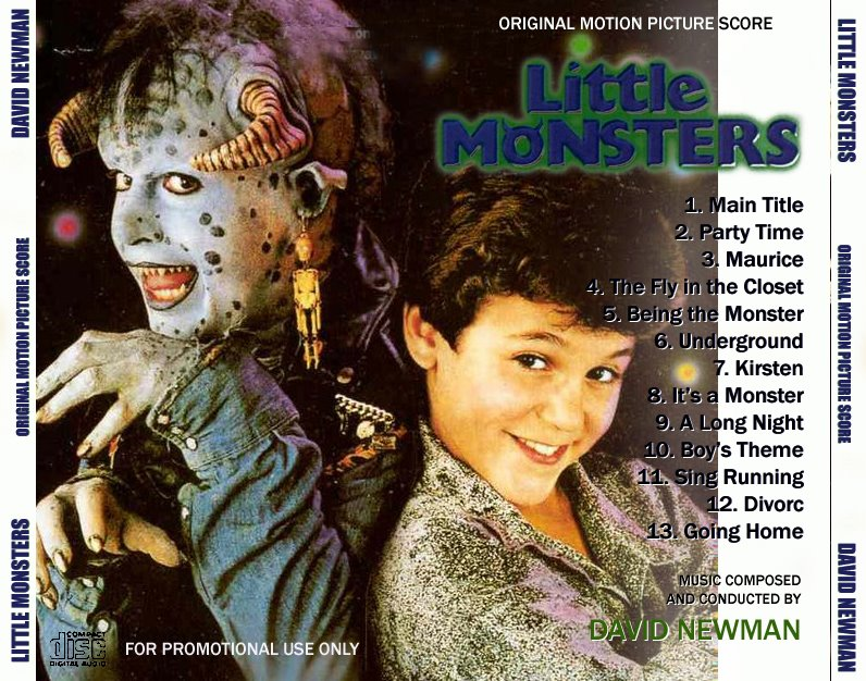 Hard to find songs from soundtracks little monster 39 s 1988 for Songs from 1988 uk