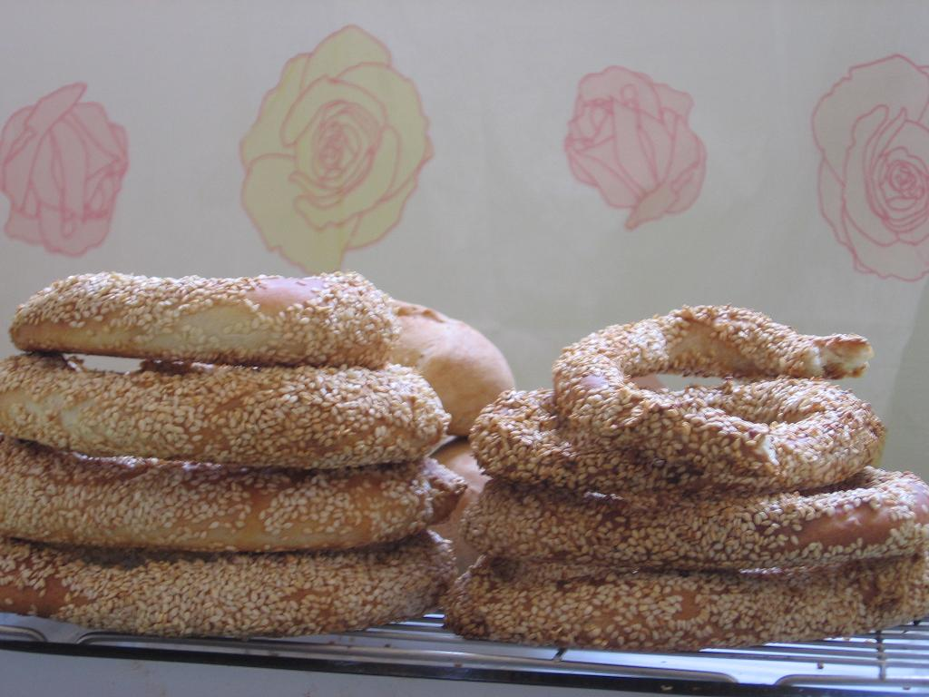 My moms recipes and more koulouria sesame rings from greek food update 1162007 this post is also hereathens post club koulouria forumfinder Gallery