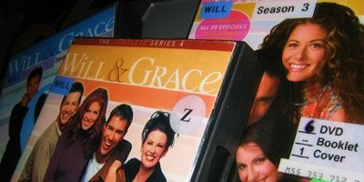 Will & Grace DVDs that I am going to watch