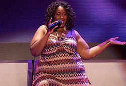 Mandisa performing this week