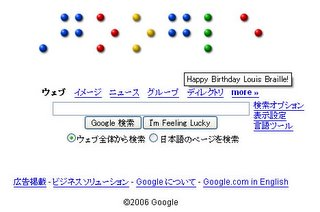 Happy Birthday Louis Braille!