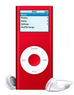 iPod nano (PRODUCT) RED Special Edition