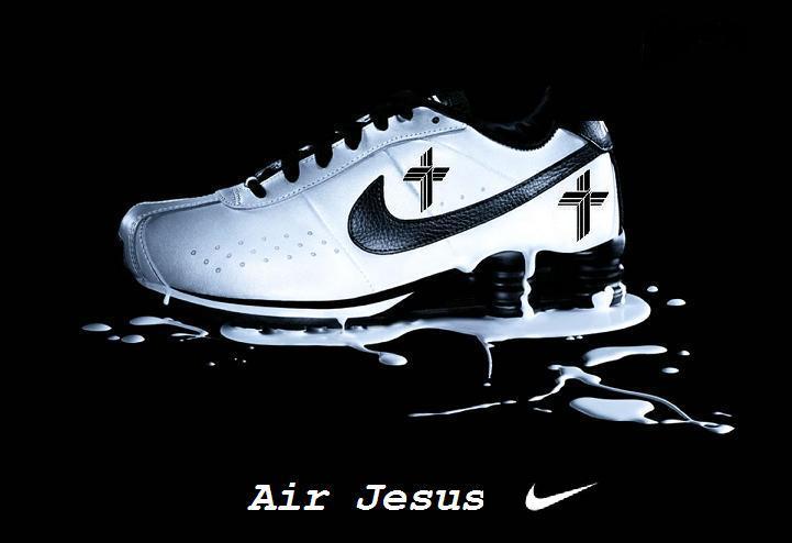 Black Jesus Shoes