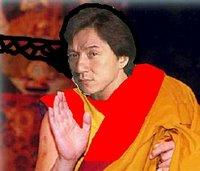 Jackie Chan as Dalai Lama