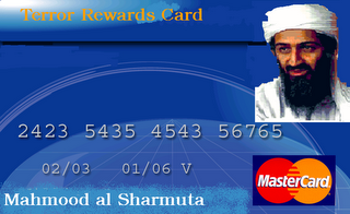 terror rewards card