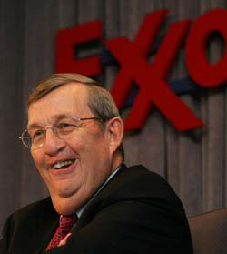 Exxon's Lee Raymond