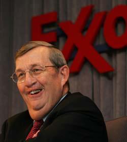 Exxon's Lee Raymond