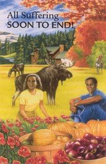 Jehovah's Witness pamphlet