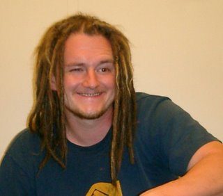 White dude with dreadlocks