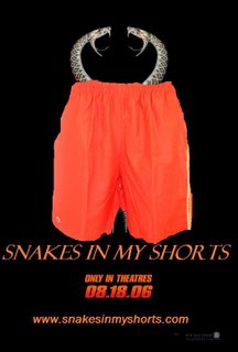 Promotional poster for Snakes In My Shorts