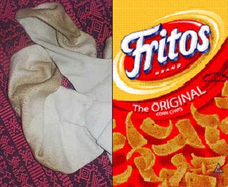 Fritos and sweat socks