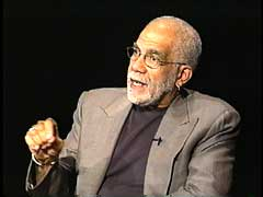Journalist Ed Bradley