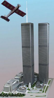 Scale model of World Trade Center