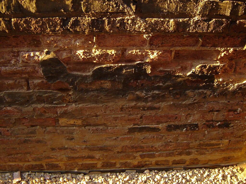 the crumbling wall