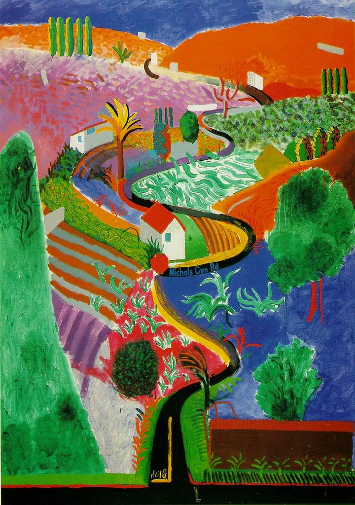 the early life and artistic works of english artist david hockney Life in pictures who is david hockney and what are his most famous artworks english painter, ipad art fan and creator of the sun's new masthead.