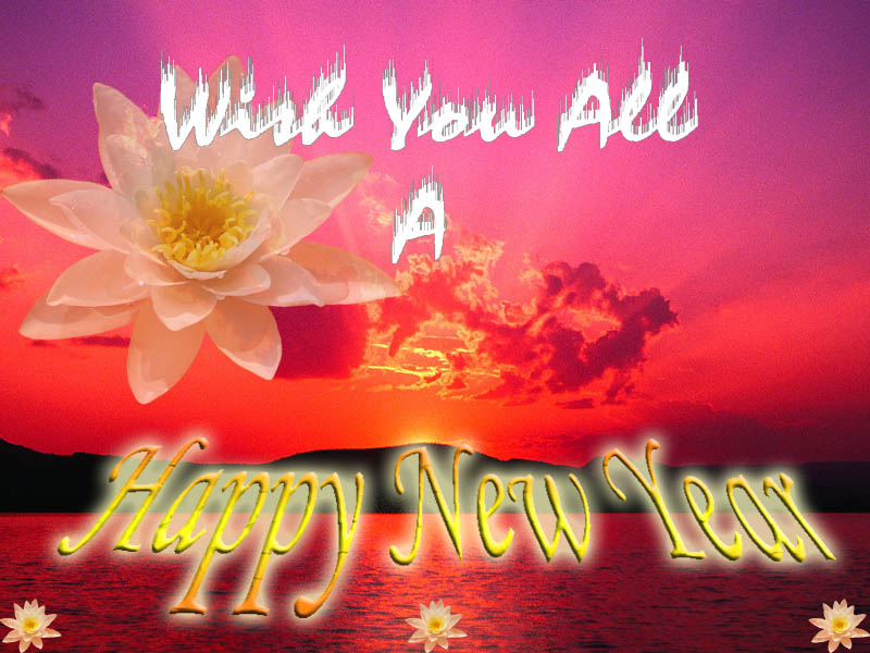 wish you all a happy and prosperous new year 2006