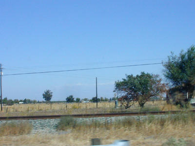 Route 99 near Fresno