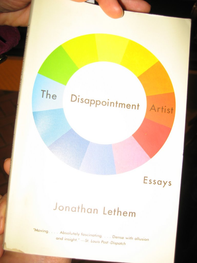 disappointment artist essays