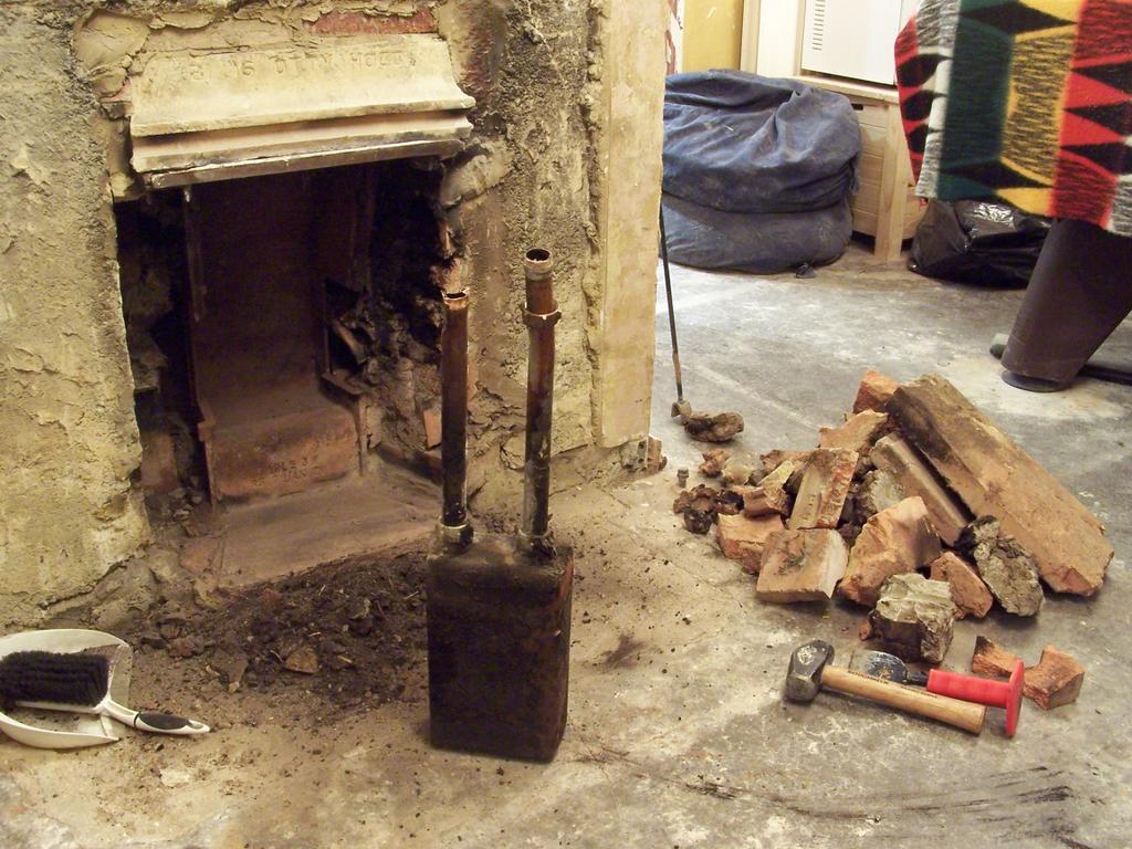 Axforddiy Rebuilding The Fireplace