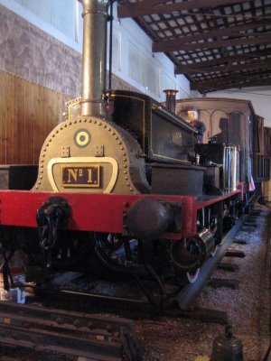 First Locomotive in Argentina