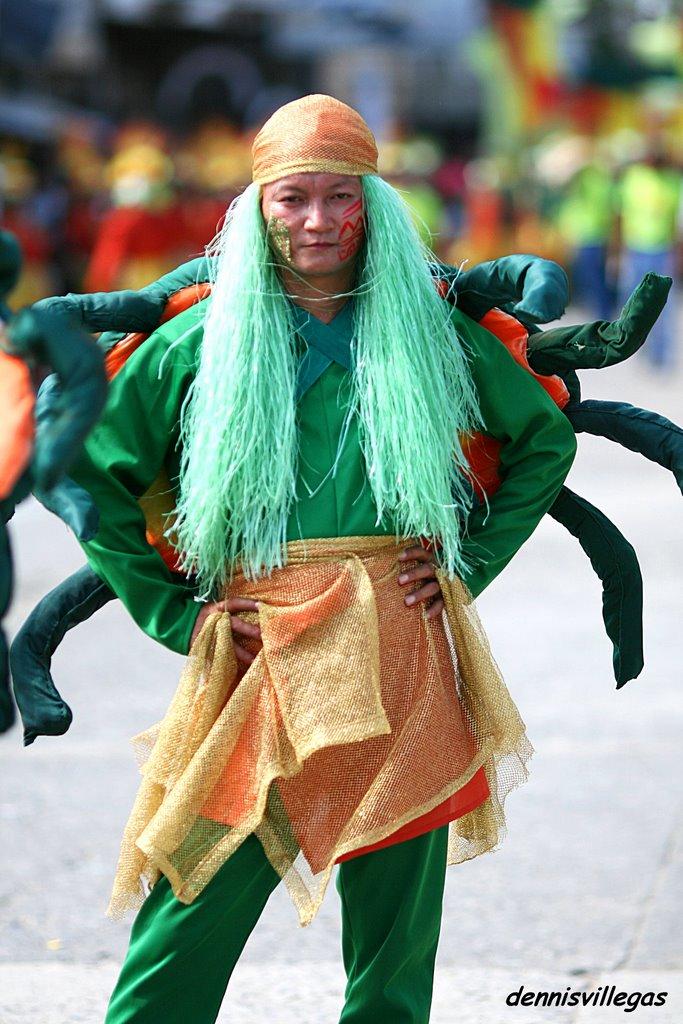 Alimango Festival Samar an Alimango Festival Dancer