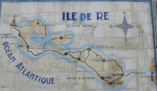 Île de Ré map