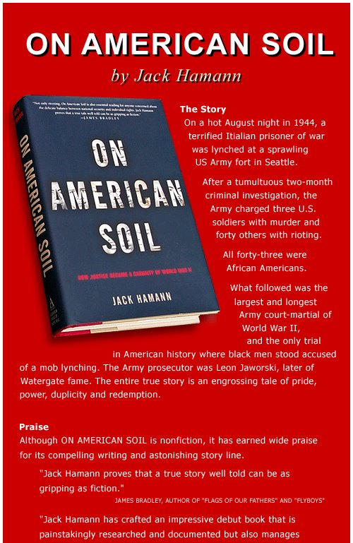Trial ad and other notes on american soil for American soil