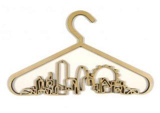 Sixixis CityScape coat hanger