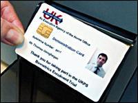 Feax security, in a card