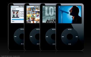 Click to enlarge the black flavor of the iPod Video