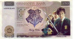 Harry Potter Bank Note