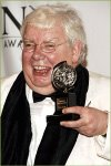 Richard Griffiths with his Tony Award