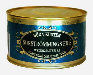 Typical swedish 2006 for Swedish fermented fish