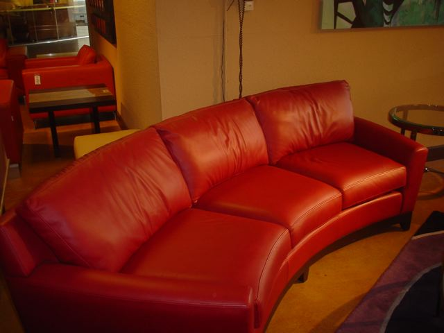 Treough Curved Couches