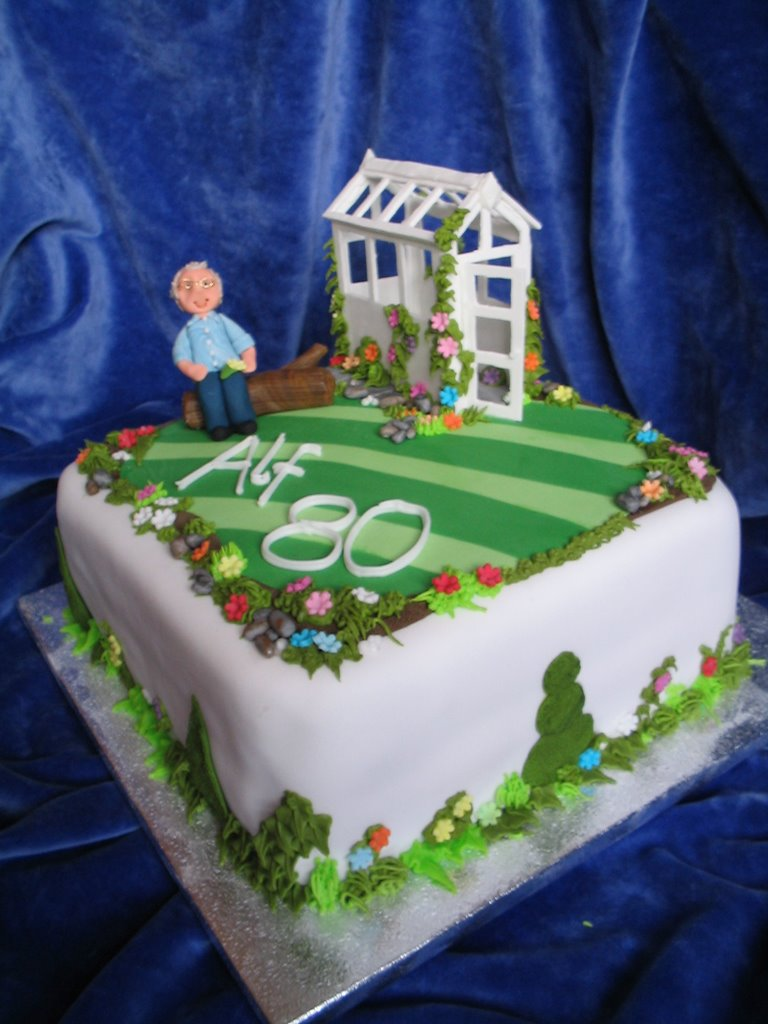 My Cakes....: Various garden theme cakes