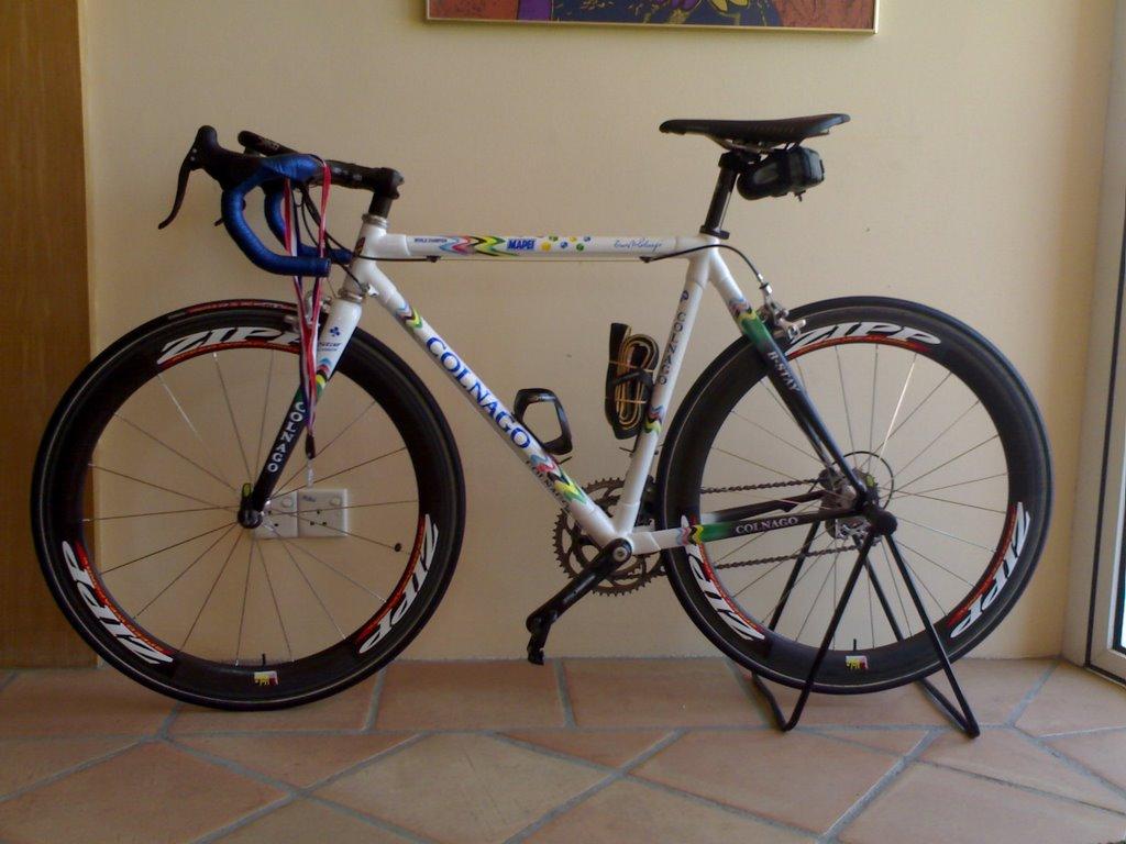 Bike Enthusiastic: Colnago C40 Mapei World Champion
