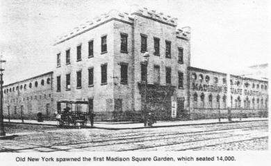 New York History Geschichte Madison Square Garden S