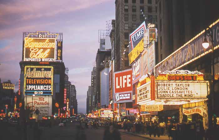 New York History Geschichte Times Square Fr 252 Her