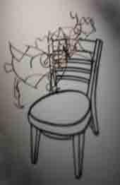 silla de sombras
