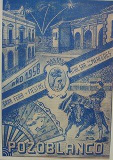 Cartel de Feria de 1958