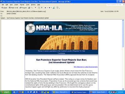 NRA's Deceptive Headline