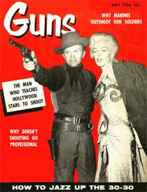 GUNS Magazine, July 1956