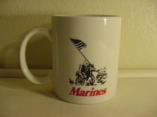 US Marines Raising the Flag at Iwo Jima Mug Coffee Cup