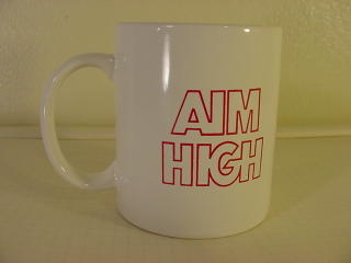 US Air Force Mug Aim High