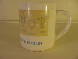 Franklin Institute Science Museum Coffe Cup