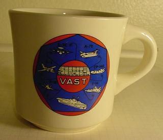 VAST Navy Mug Cup