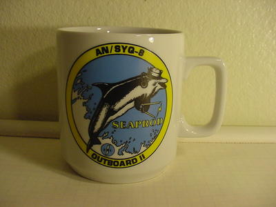 AN/SYQ-8 Outboard II Mug Coffee Cup