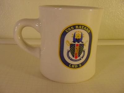 USS Bataan LHD 5 Mug